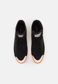 Levi's® - SQUARE  - Sneaker high - regular black - 3