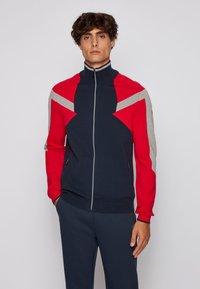 BOSS - Zip-up hoodie - dark blue - 0