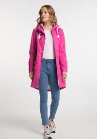 Schmuddelwedda - Waterproof jacket - pink - 1