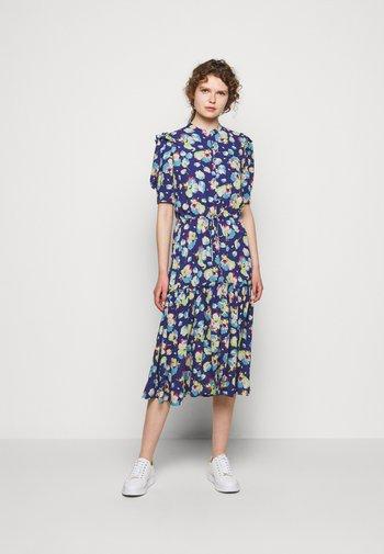DRAPEY POLY  - Day dress - blue multi