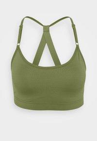 Casall - STRAPPY SPORTS BRA - Medium support sports bra - northern green - 0