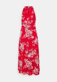 VILA PETITE - VITAGETES HALTERNECK ANKLE DRESS PETITE - Maxi dress - mars red - 1