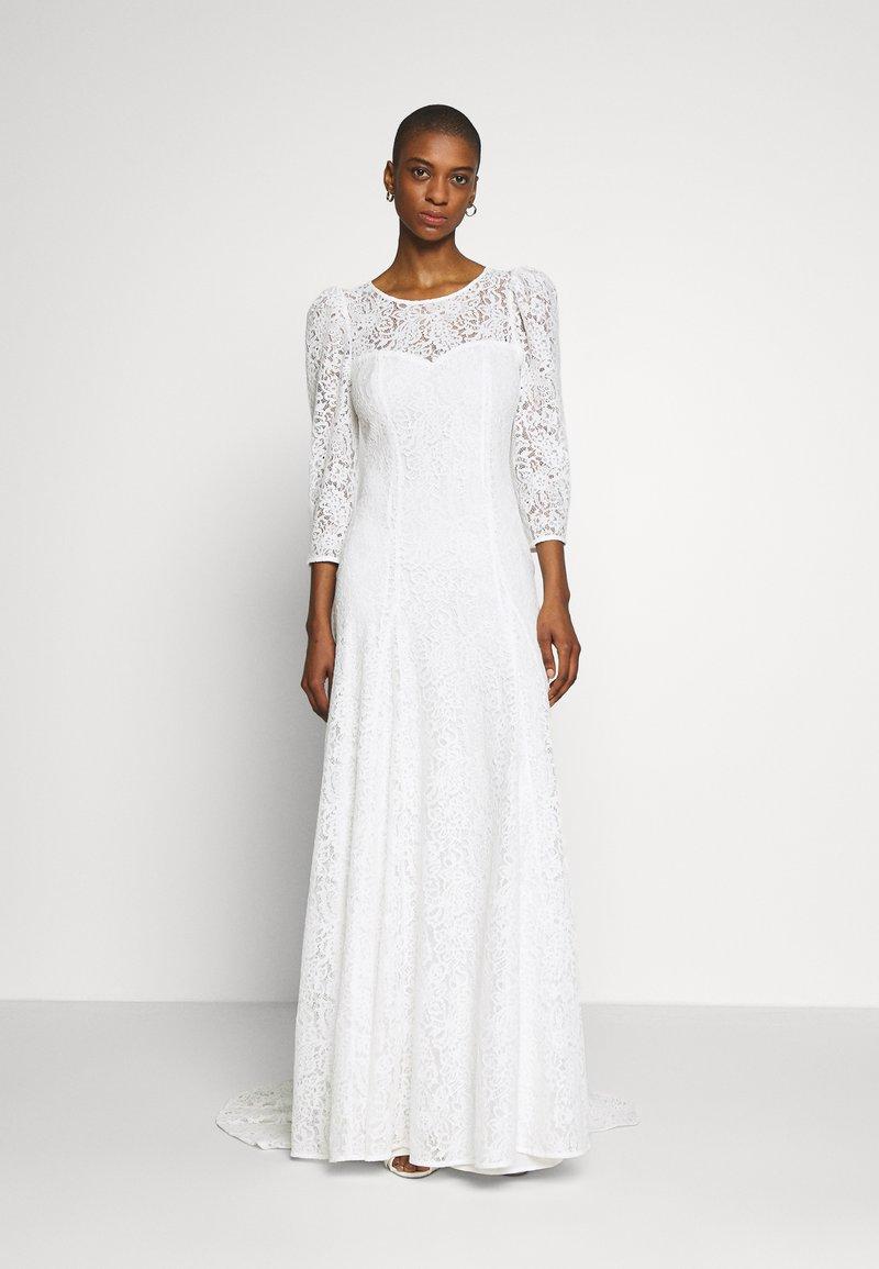 NAF NAF - VALERIA - Robe de cocktail - blanc