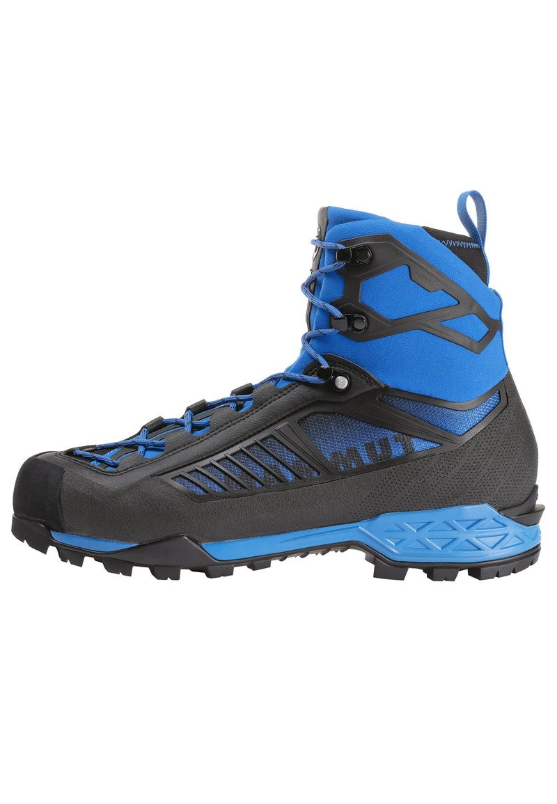 Mammut - TAISS TOUR MID GTX® MEN - Mountain shoes - black-dark gentian