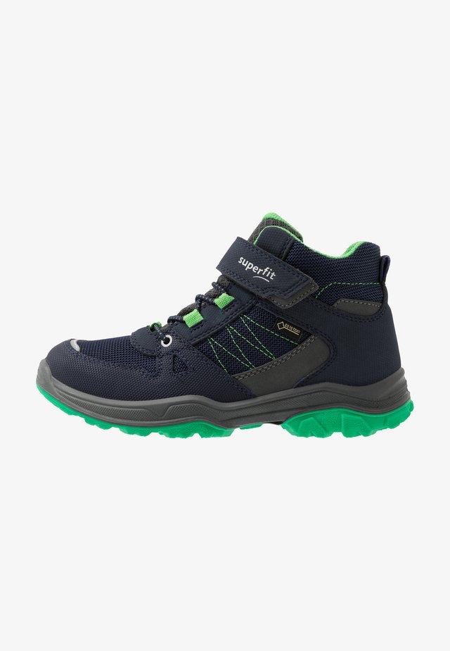 JUPITER - Šněrovací kotníkové boty - blau/grün