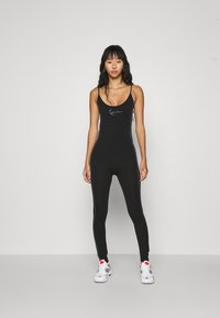 Karl Kani - SMALL SIGNATURE CATSUIT - Overal - black - 0