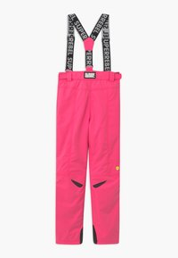 SuperRebel - SUSTAINABLE UNISEX - Snow pants - fluo pink - 1