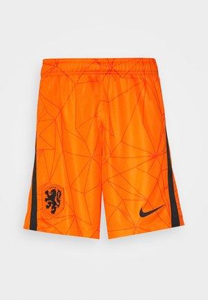 NIEDERLANDE SHORT - Sports shorts - safety orange/black