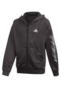 adidas Performance - UP2MV AEROREADY LOOSE HOODIE - Felpa aperta - black - 0