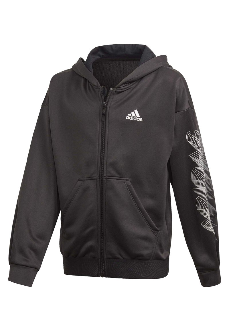 adidas Performance - UP2MV AEROREADY LOOSE HOODIE - Felpa aperta - black