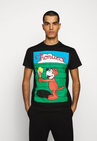 Fiorucci - MEN'S ICE CREAM TEE - Camiseta estampada - black - 0