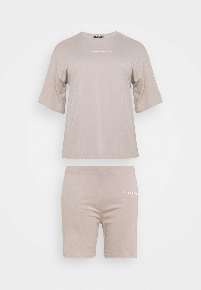 Missguided Plus - SET - Basic T-shirt - grey