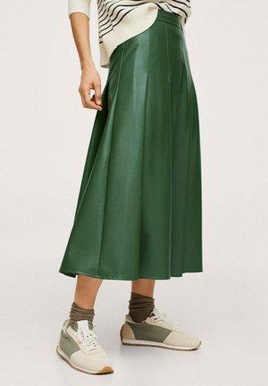 A-line skirt - waldgrün