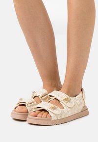 Dune London - LOCKSTOCKK - Sandals - natural - 0