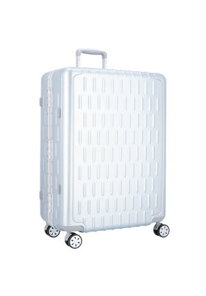 DISCOVERY 4-ROLLEN TROLLEY - Wheeled suitcase - silver alu