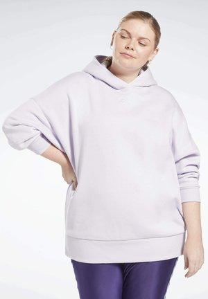 RETRO - Jersey con capucha - purple