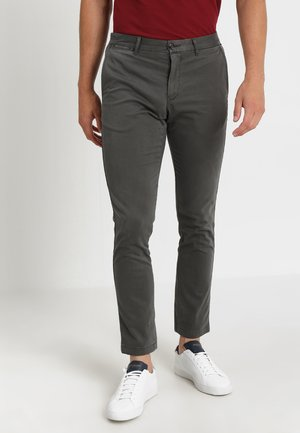 CORE STRAIGHT FLEX - Pantalones chinos - grey