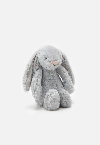 BASHFUL SHIMMER BUNNY SMALL UNISEX - Cuddly toy - grey