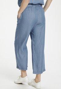 Cream - SUNACR  - Kalhoty - denim blue - 2