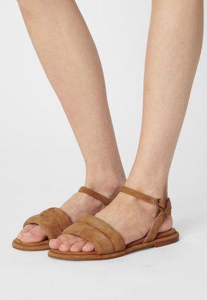 SABRINA - Sandals - cognac