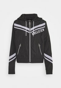 Hollister Co. - Windbreaker - black - 5