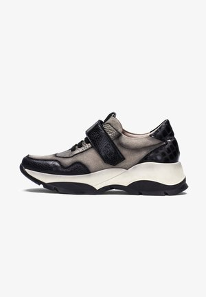 ANDES - Sneakers laag - taupe, black