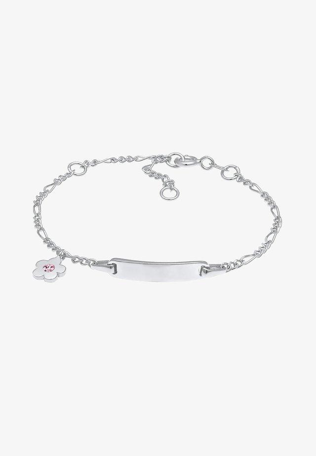 GLASS CRYSTAL - Armband - silber