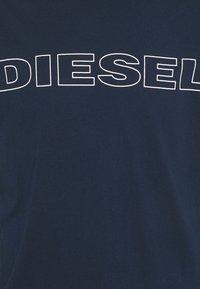 Diesel - 2 PACK - Print T-shirt - blue/black - 9