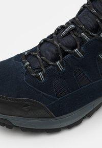 Hi-Tec - BANDERA LITE MID WP - Hiking shoes - sky captain/monument/black - 5