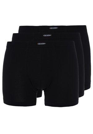 ARCEN 3 PACK - Pants - black