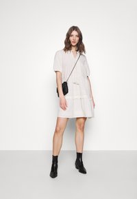 Vero Moda - VMIBIA SHORT DRESS - Day dress - birch - 1