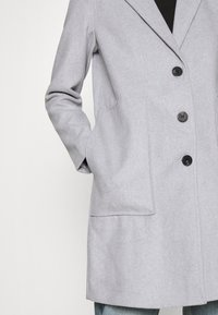 Vila - VILISIA COAT - Classic coat - light grey melange - 4