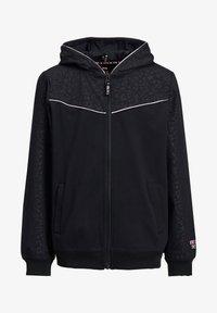 WE Fashion - Sweater met rits - black - 2