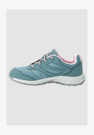 WOODLAND TEXAPORE - Walking trainers - grey pink
