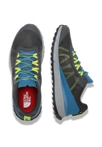 The North Face - M ULTRA SWIFT - Trail running shoes - vanadis gry/blue sapphire - 1