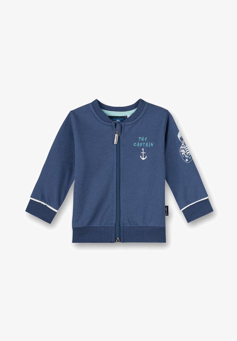 Sanetta Kidswear - Zip-up sweatshirt - blau