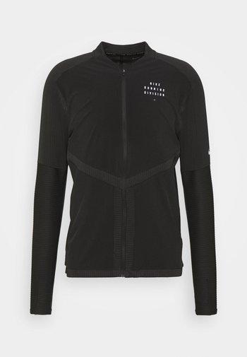 RUN ELEMENT  - Sports jacket - black/silver