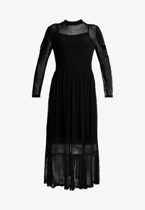 FREYALC DOTS DRESS - Robe d'été - pitch black