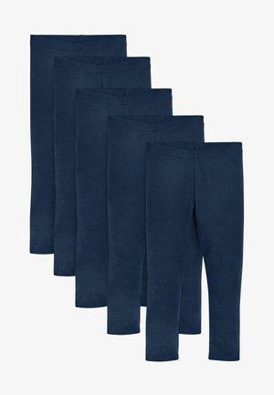5 PACK - Leggings - blue