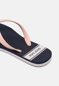 Pepe Jeans - BAY BEACH WOMAN - T-bar sandals - navy - 5