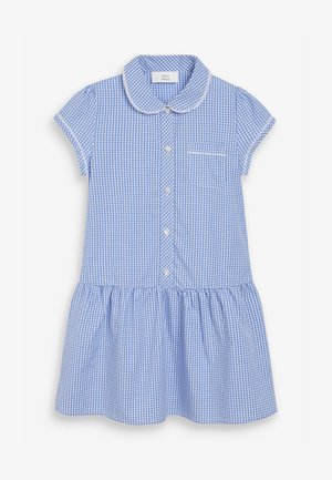 Vestido camisero - mottled blue