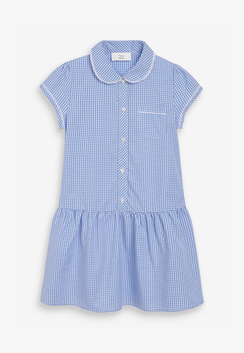 Next - Shirt dress - mottled blue