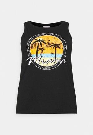 CARMALIBU TEE - T-shirts print - black
