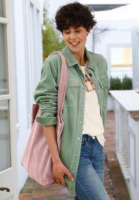 Dress In - Short coat - salbeigrün - 2
