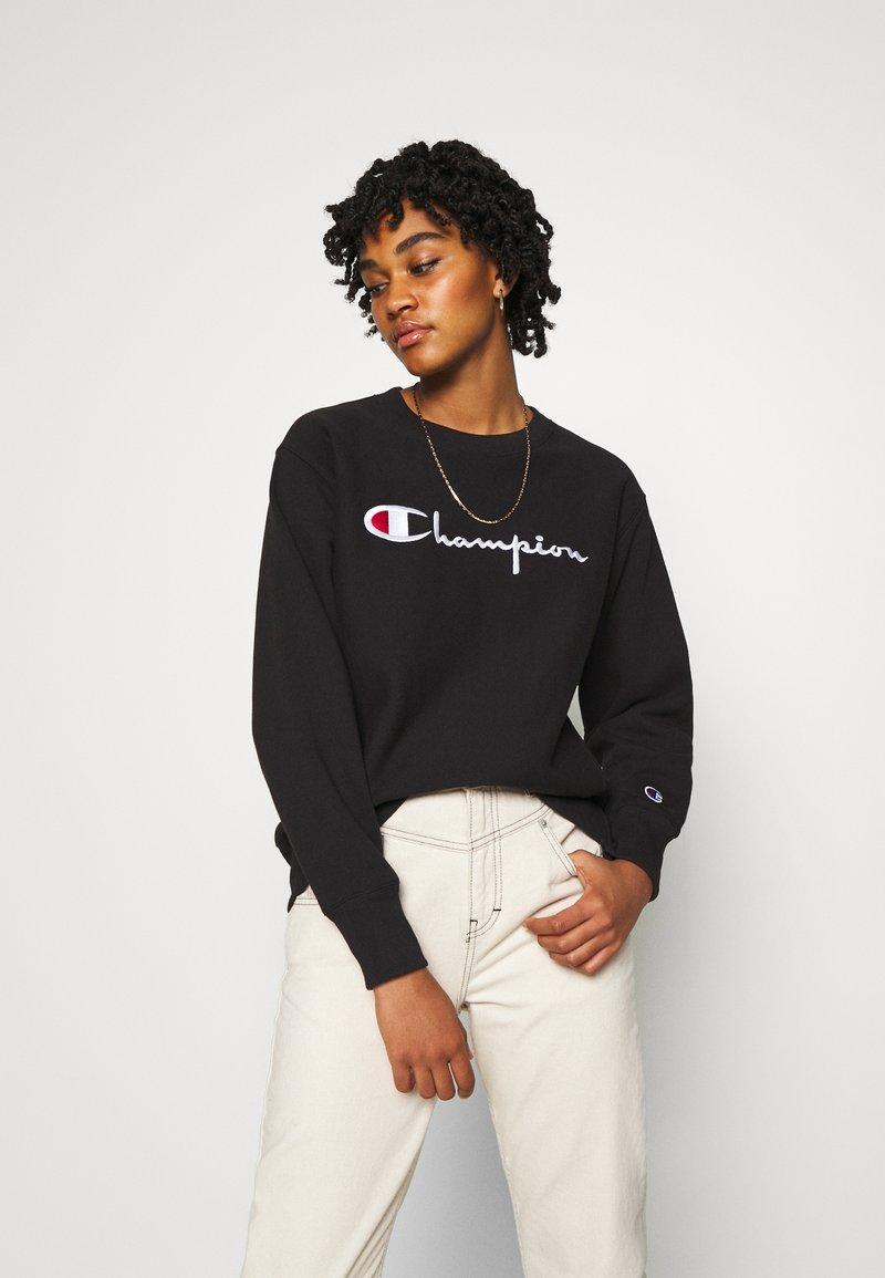 Champion Reverse Weave - CREWNECK - Collegepaita - black