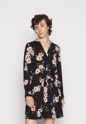 PCCATALINA DRESS - Skjortekjole - black