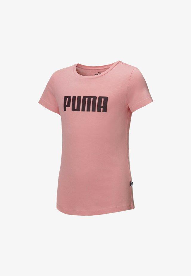 ESSENTIALS  - Print T-shirt - salmon rose