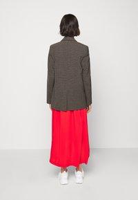 Won Hundred - LINDA - Short coat - brown melange - 2