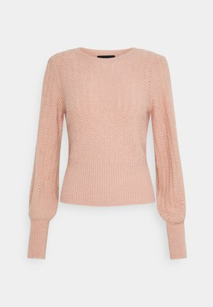 PCDENVER O-NECK  - Jumper - misty rose