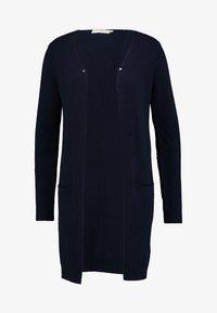 Cream - KAITLYNCR CARDIGAN SOFT - Cardigan - royal navy blue - 4